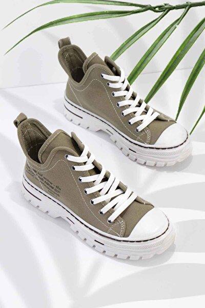 Haki Kadın Sneaker K01779000118
