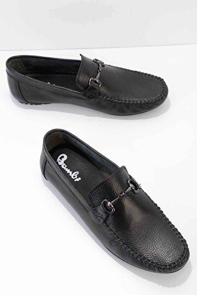 Hakiki Deri Siyah Erkek Loafer E01623000103