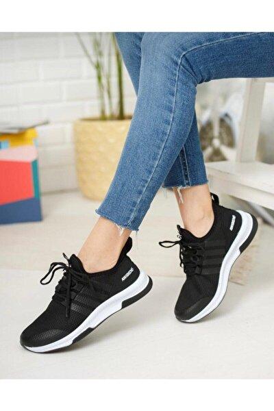 Unisex Spor Tam Ortopedik Triko Sneaker Ayakkabı