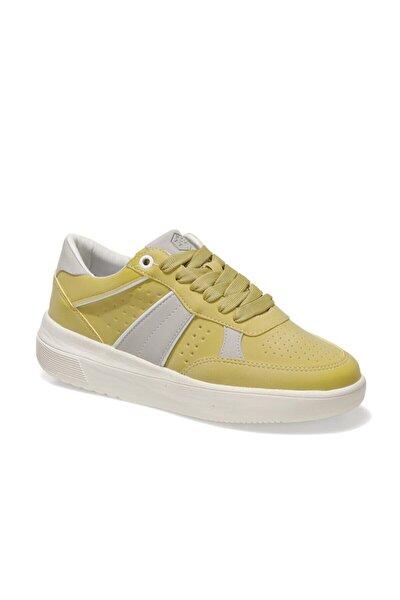 Meg S Sarı Kadın Havuz Taban Sneaker