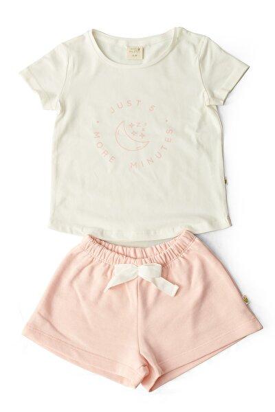 Kız Çocuk Organik  Pijama Takımı