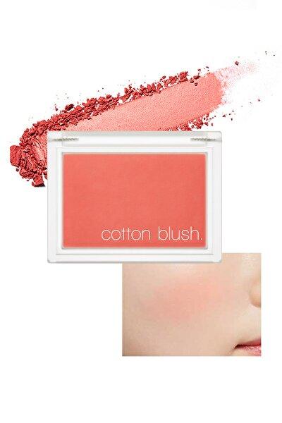 Yumuşak Dokulu Kolay Sürülebilen Allık Cotton Blusher (Sunny Afternoon)