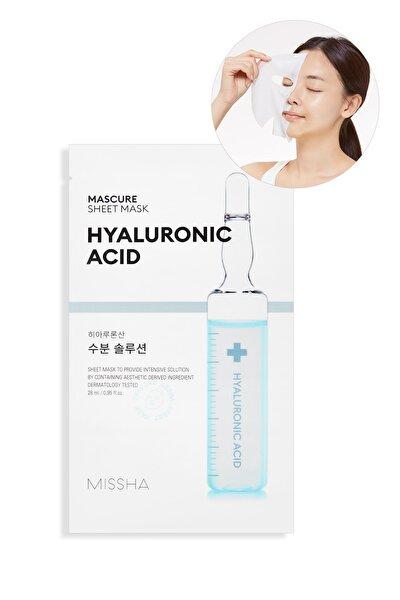 Hyalüronik Asit Nemlendirici Yaprak Maske (1ad) Mascure Hydra Solution Sheet Mask