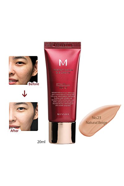 Yoğun Kapatıcılık Sunan BB Krem M Perfect Cover BB Cream SPF42/PA+++ No: 23 ( 20 ML )