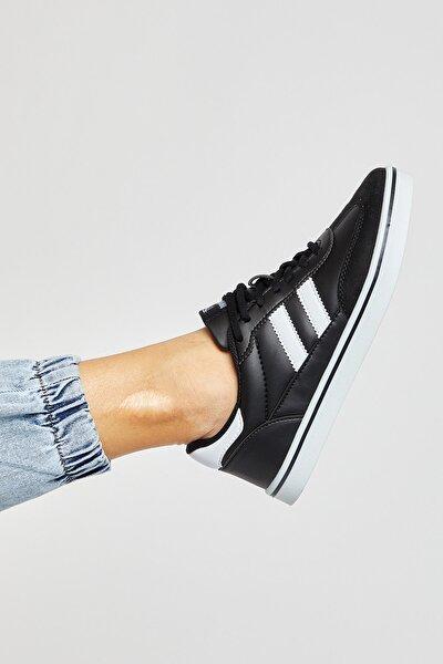 Siyah Beyaz Unisex Sneaker TBADG-0
