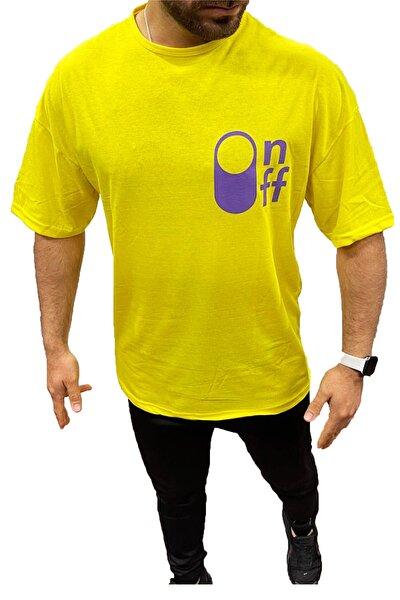 Unisex Baskılı Oversize T-shirt