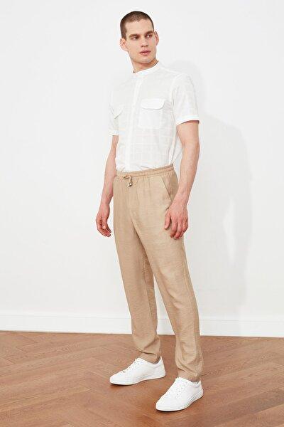 Taş Erkek Beli Bağlamalı Rahat Kesim  Pantolon TMNSS20PL0547