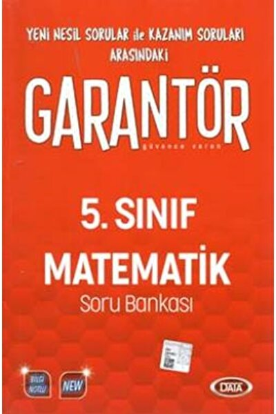 5.Sınıf Garantör Matematik Soru Bankası