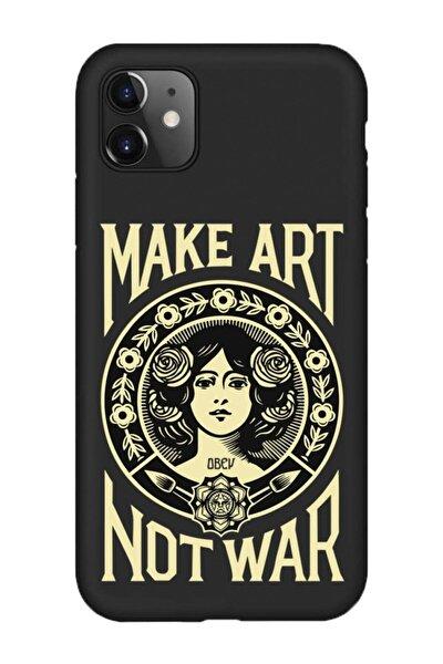Iphone 11 Lansman Make Art Desenli Telefon Kılıfı