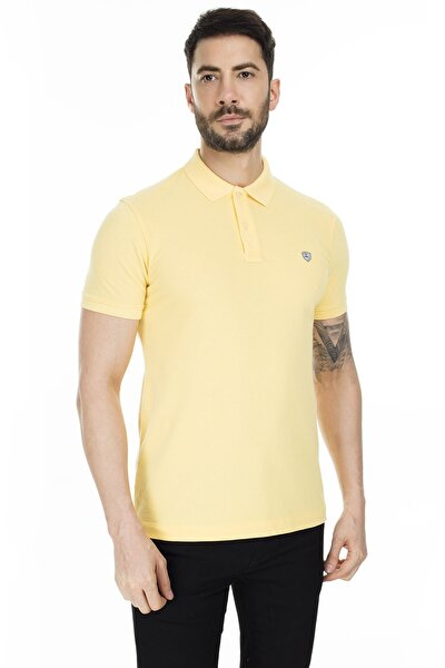Laon Spor Polo T- Shirt Sarı