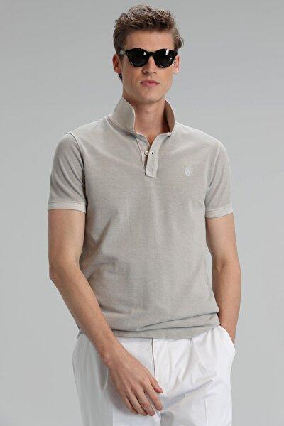 Erkek Ekru Vernon Spor Polo T- Shirt