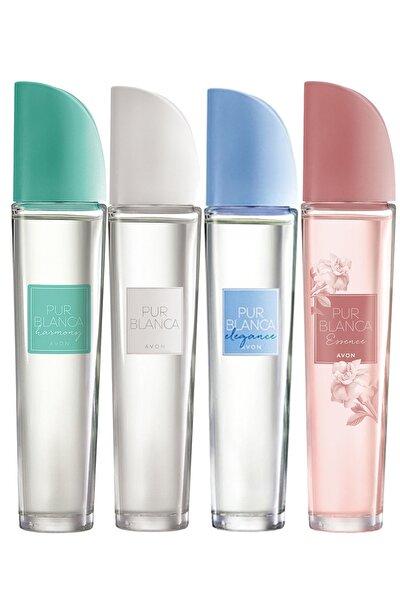 Pur Blanca  Harmony Elegance Essence Edt 50 ml  Kadın Parfüm Paketi 4'lü