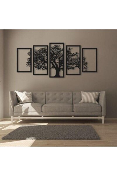 Ağaç Silüetli Ahşap Tablo