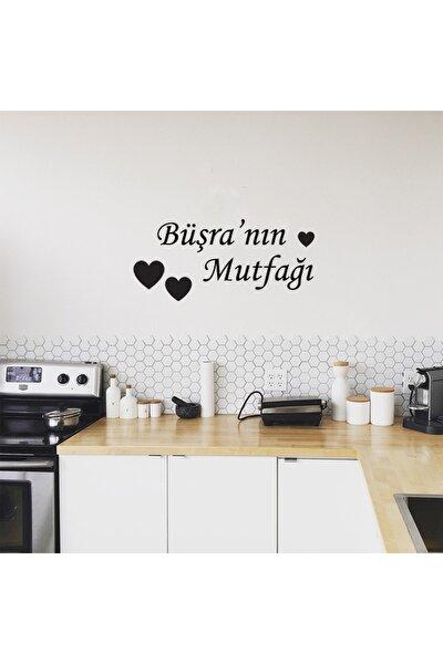 Büşra'nın Mutfağı Ahşap Duvar Dekoru