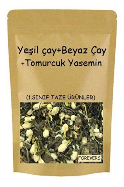 Tomurcuk Yasemin & Beyaz Çay & Yeşil Çay 20 Gram