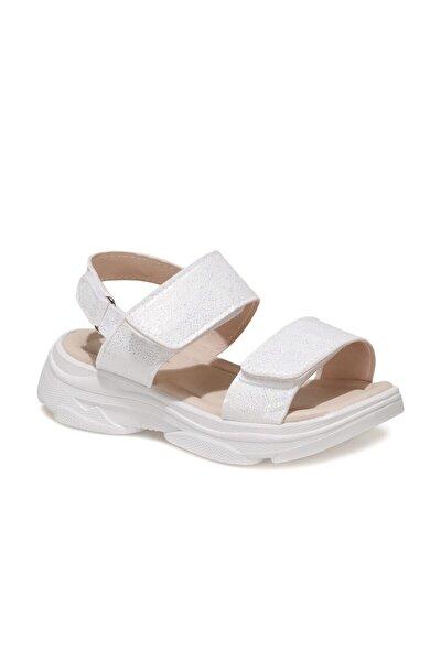 615302.P1FX Beyaz Kız Çocuk Sandalet 101022378