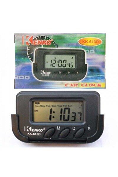 Kk-613d Dijital Küçük Masa - Araba Saati-alarm-kronometre Kenko