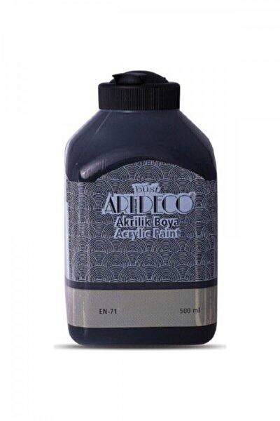 Akrilik Boya 500 ml - Siyah