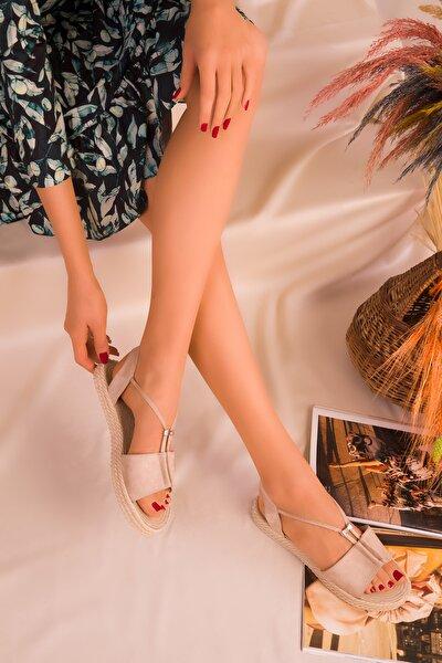 Ten Suet Kadın Sandalet 14661