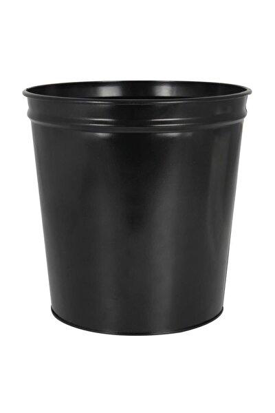 Çöp Kovası Metal Siyah D-1