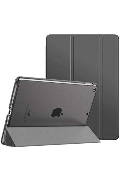 Siyah Apple Ipad 8. Nesil 2020 10.2 inç Tablet Flip Smart Standlı Akıllı Kılıf Smart Cover
