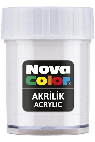 Color 173 Akrilik Boya Beyaz Şişe