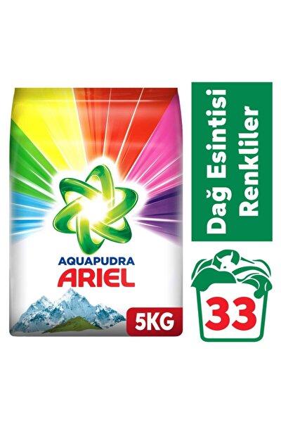 Toz Çamaşır Deterjanı Dağ Esintisi Renkliler 5 kg