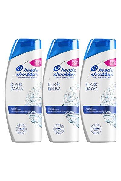 Head & Shoulders Kepek Karşıtı Şampuan Klasik Bakım 400 ml X 3