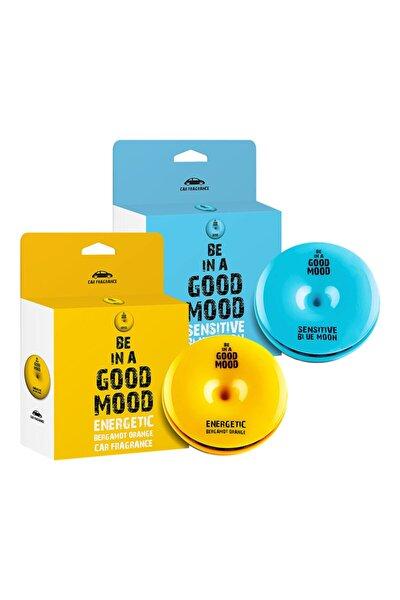 Atlas Trademark 2li Paket Be In A Good Mood Araba Kokusu - | Blue Moon Ve Bergamot Orange