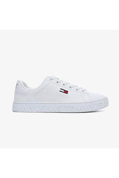 Kadın  Cool Tommy Jeans Beyaz Spor Ayakkabı