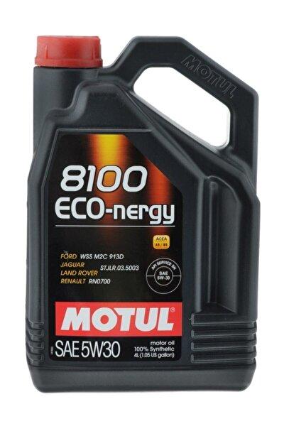 8100 Eco-nergy 5w30 4 Litre %100 Sentetik Motor Yağı