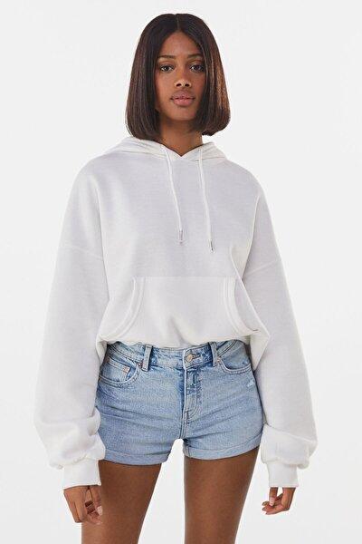Kadın Basic Jean Şort