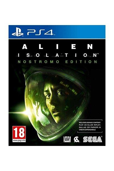 Alien Isolation Nostromo Edition PS4 Oyun