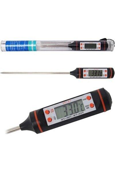 Dijital Gıda Mutfak Termometresi Sıcaklık Ölçer Tp-101
