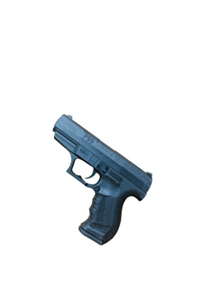 Boncuklu Tabanca P99 Boncuklu Silah 14 Cm Boncuk Hediyeli