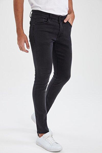 Martin Super Skinny Düşük Bel Dar Paça Siyah Jean
