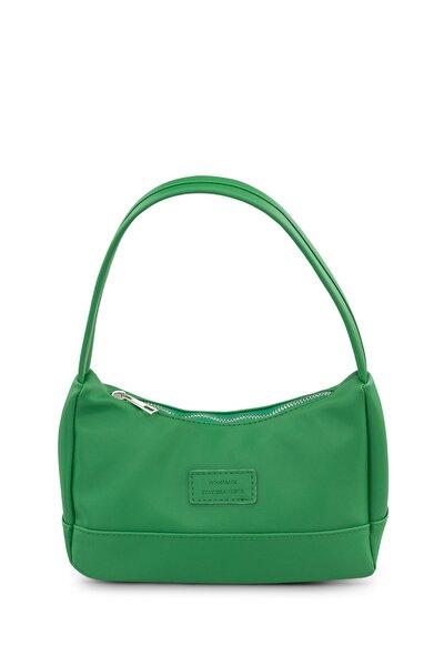 Kadın Yeşil Baguette Çanta 197