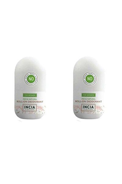 Doğal Roll-on Deodorant Kadınlar Için 50 ml X 2 Adet