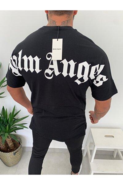 Siyah Palm Angels Oversize T-shirt