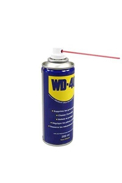 Çok Amaçlı Yağlama Ve Pas Sökücü Sprey Pipetli Wd 40 200 ml