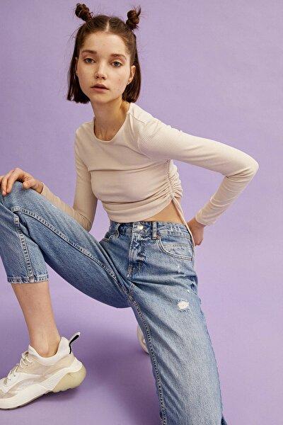 Kadın Açik Indigo Jeans