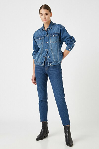 Kadın Koyu Indigo Jeans 1KAK47614MD