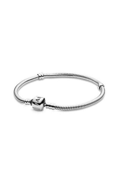 Gümüş Pandora Charm Uyumlu Bileklik
