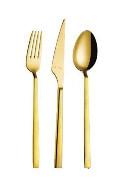 Vogue Gold 24 Parça 6 Kişilik Çatal Kaşık Bıçak Takımı