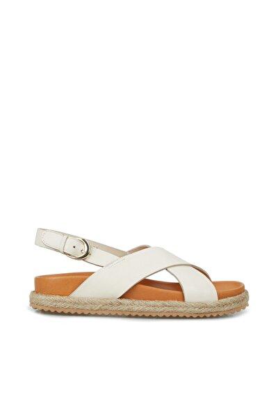 Kadın Bej Taban Detaylı Sandalet
