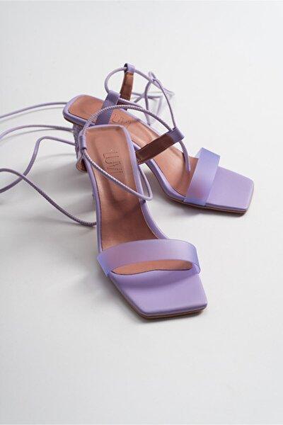 Kadin Lıla Cılt Topuklu Sandalet 801