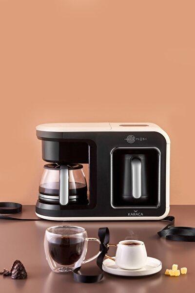 Hatır Plus 2 in 1 Krem Kahve Makinesi