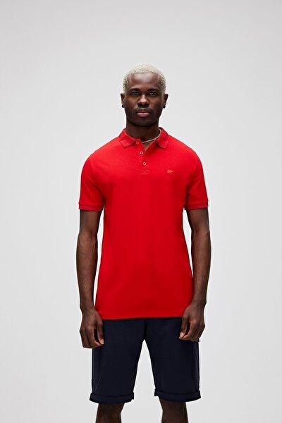 Erkek Kırmızı Stark Polo Tşört