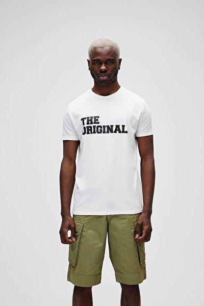 Erkek Beyaz The Original Tişört