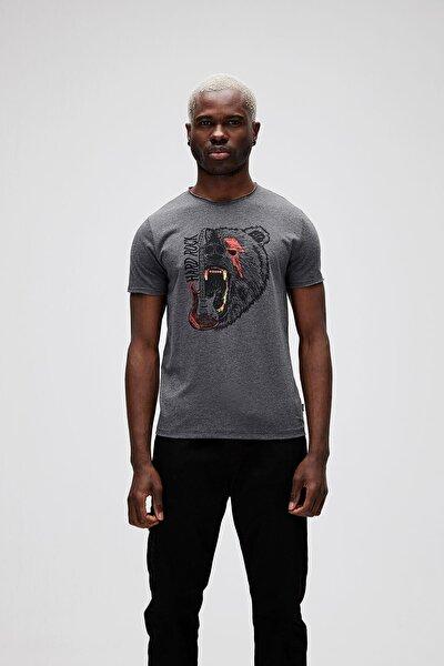 Hard Rock Tee Erkek Baskılı Tişört 21.01.07.024